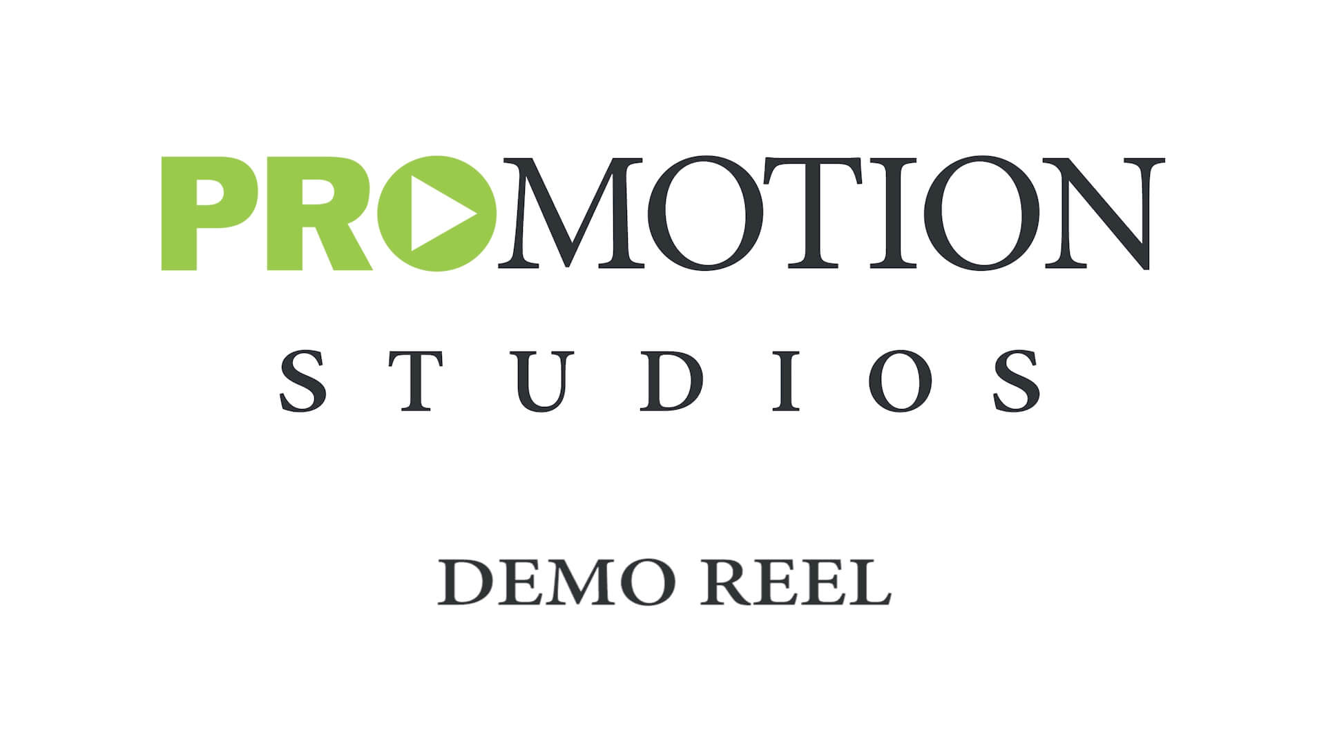 ProMotion Studios Demo Reel