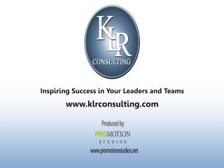 KLR Consulting Training