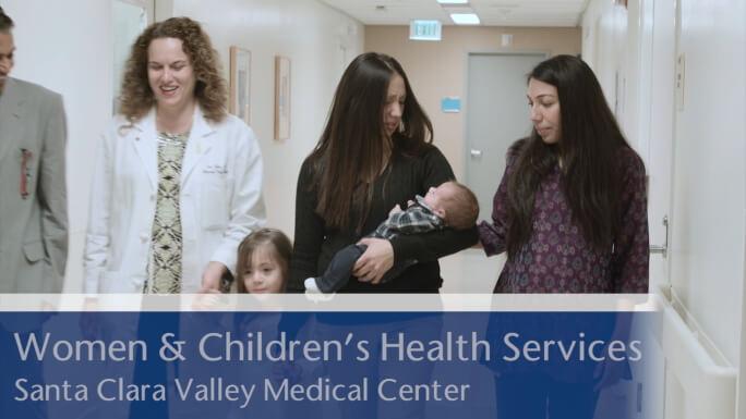 Santa Clara Valley Medical Center Women & Children's Health Services Video