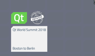 Qt Word Summit 2018 Recap