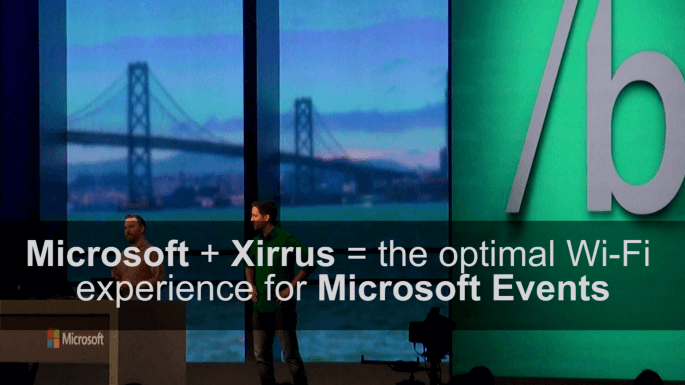 Xirrus – XirrusTV – Microsoft Events – Client Case Study Video